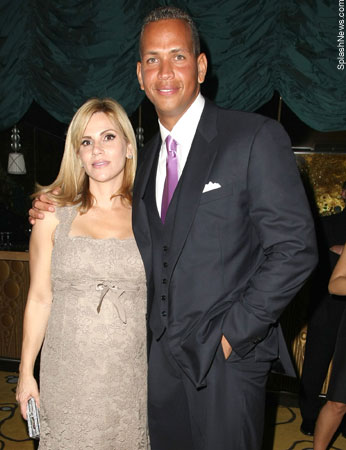 Alex Rodriguez and his wife, Cynthia, pregnant