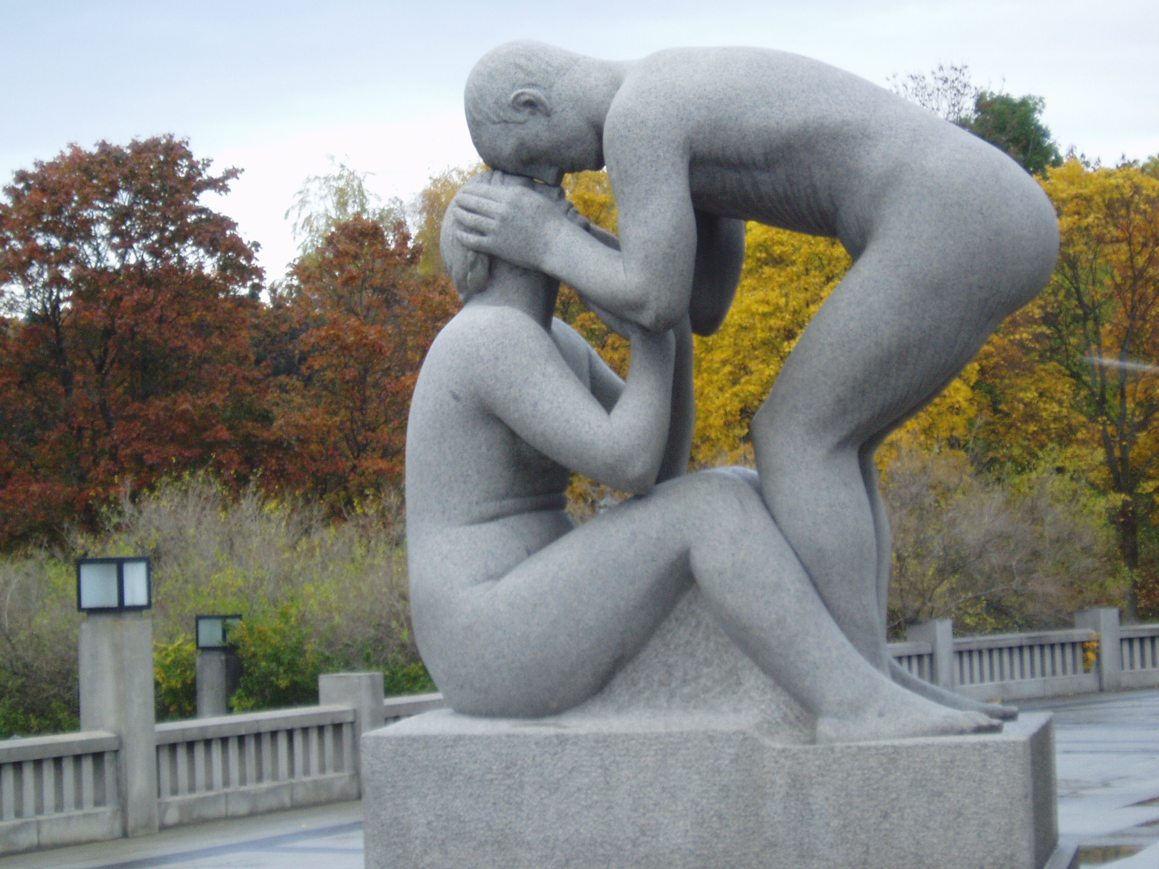 Vigeland Park, image of tenderness, If the Man You Love Was Abused
