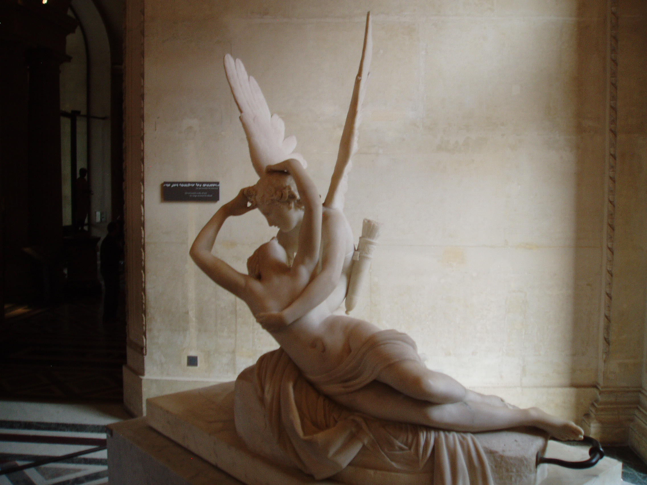 (Louvre, Amor and Psyche) You Can't Have Him—He's Mine